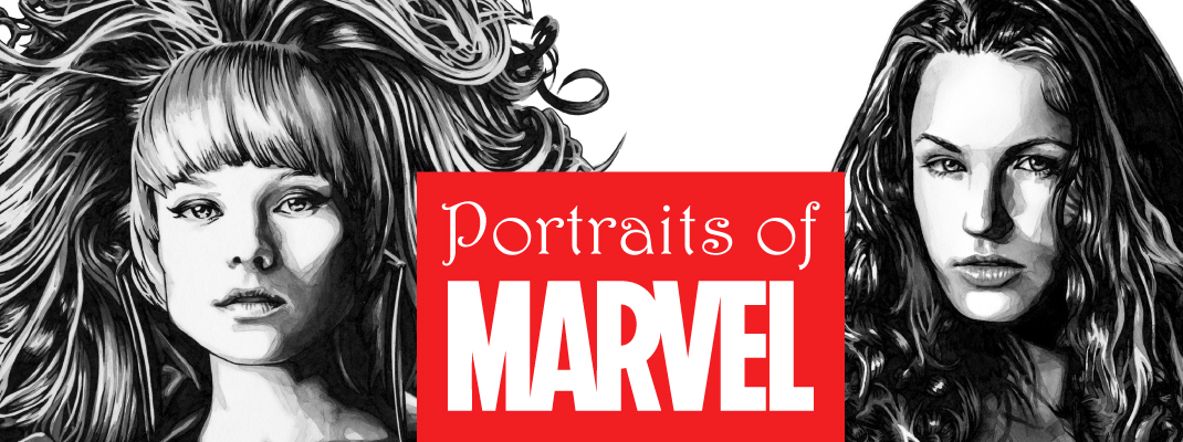 Portraits of Marvel